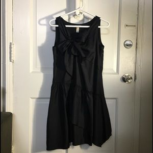 J. Crew Tie Bow 100% silk tank asymmetrical dress